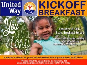 Invitation - United Way Annual Campaign Kickoff Breakfast 2017