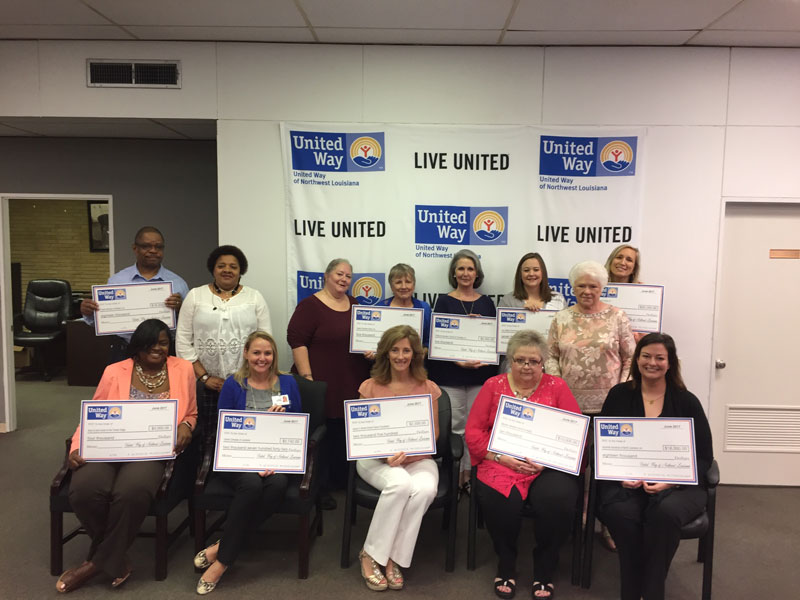 United Way Grants Over $76,000 to Nonprofits in Webster, Bienville and Claiborne Parishes