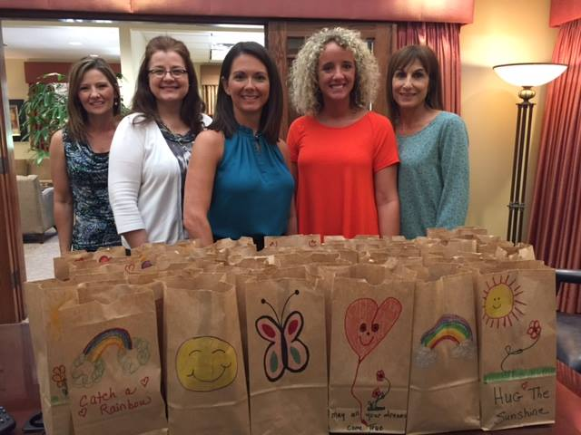 Snack Packs All Around for Ouachita Independent Bank
