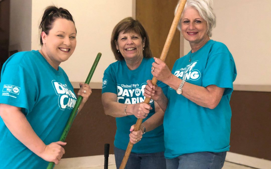 NEARLY 100 VOLUNTEER FOR DAY OF CARING MINDEN