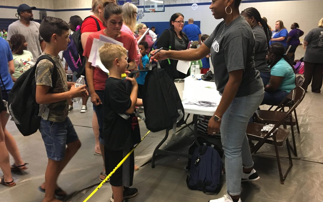 United Way's Red River Back to School Bash Serves Hundreds of Families