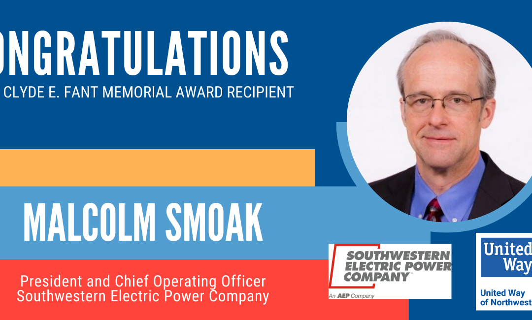 2019-2020 Clyde E. Fant Memorial Award: Malcolm Smoak