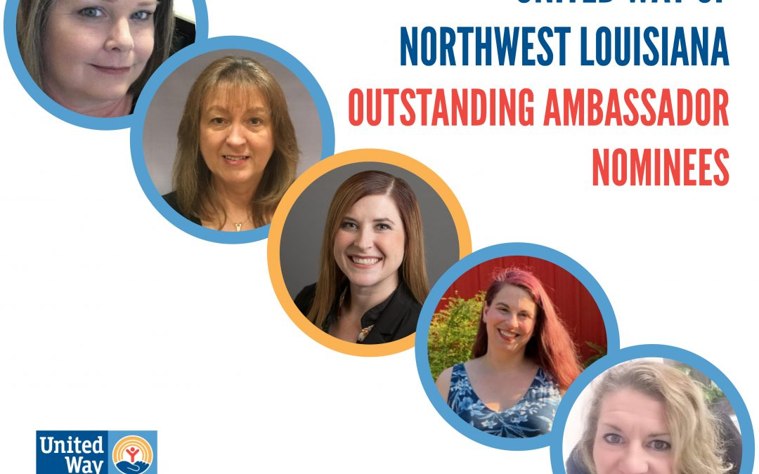 2019-2020 Outstanding Ambassador and Nominees