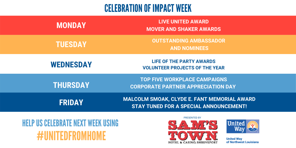 UNITED WAY SPIRIT WEEK