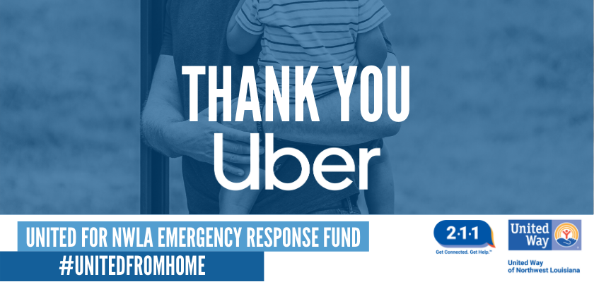 UNITED WAY PROVIDES FREE UBER RIDES TO AREA NONPROFITS
