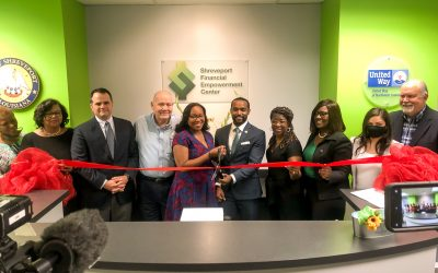 UNITED WAY HOSTS GRAND REOPENING OF THE SHREVEPORT FINANCIAL EMPOWERMENT CENTER