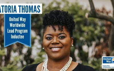 UNITED WAY of NWLA VICE PRESIDENT, LATORIA W. THOMAS, IS SELECTED FOR WORLDWIDE LEADERSHIP PROGRAM